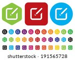 subscribe icon   Shutterstock .eps vector #191565728