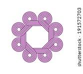 infinite octagon shape vector | Shutterstock .eps vector #191572703