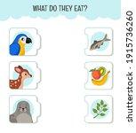 matching children educational... | Shutterstock .eps vector #1915736260