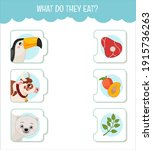 matching children educational... | Shutterstock .eps vector #1915736263