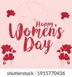 happy march 8 international... | Shutterstock .eps vector #1915770436