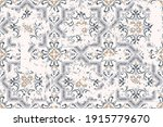 seamless vintage pattern with... | Shutterstock .eps vector #1915779670