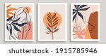 abstract minimalist cards set.... | Shutterstock .eps vector #1915785946