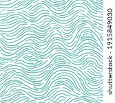 seamless pattern with turquoise ... | Shutterstock . vector #1915849030