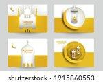 ramadan kareem islamic... | Shutterstock .eps vector #1915860553