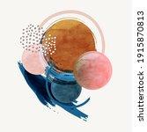 abstract vector modern... | Shutterstock .eps vector #1915870813