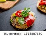 Grilled Vegetable Sandwich....