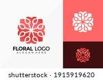 elegant flower ornament logo... | Shutterstock .eps vector #1915919620