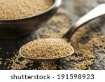 Raw Organic Amaranth Grain In ...