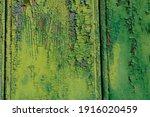 Peeling Paint Of Lime Green...