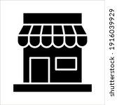 store icon  glyph style design... | Shutterstock .eps vector #1916039929