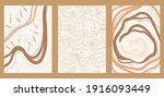 creative aesthetic posters in... | Shutterstock .eps vector #1916093449