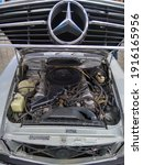 Retro Car  Mercedes Benz. With...