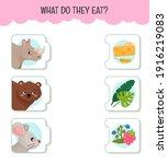 matching children educational... | Shutterstock .eps vector #1916219083
