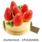 Tasty Strawberry Cheese Tart...