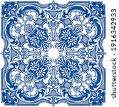 azulejos   portuguese dutch and ... | Shutterstock .eps vector #1916342933