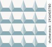 seamless geometric 3 d pattern | Shutterstock .eps vector #1916405780