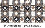 dye geo motifs seamless pattern.... | Shutterstock .eps vector #1916520080