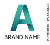 color letter a for business...