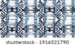 dye geo motifs seamless pattern.... | Shutterstock .eps vector #1916521790