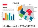 poland map. vector image of a... | Shutterstock .eps vector #1916531933