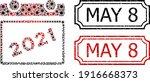 Mosaic 2021 Calendar Leaf...