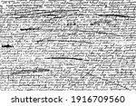 grunge texture of unreadable...   Shutterstock .eps vector #1916709560