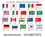 Flags Of G20 Member Countries....