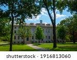 University Hall And Harvard...