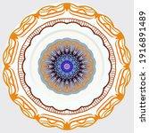 mandalas. decorative round... | Shutterstock .eps vector #1916891489