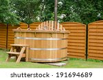 Modern New Wooden Water Spa Ho...