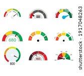 credit rate indicator...   Shutterstock .eps vector #1917048263