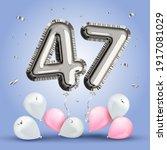 elegant greeting celebration... | Shutterstock .eps vector #1917081029