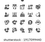 call center. mobile support... | Shutterstock .eps vector #1917099440