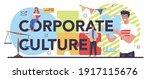 corporate culture typographic...   Shutterstock .eps vector #1917115676