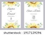 Watercolor Wedding Invitation...