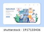 fbi agent web banner or landing ... | Shutterstock .eps vector #1917133436