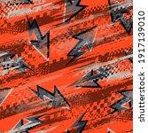 abstract seamless arrow pattern.... | Shutterstock .eps vector #1917139010