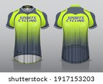 jersey design for cycling ... | Shutterstock .eps vector #1917153203
