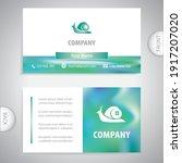 Business Card Template. Snail...