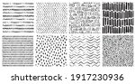 hand drawn ink pattern and... | Shutterstock .eps vector #1917230936