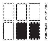set of vector borders  frames ...   Shutterstock .eps vector #1917243980