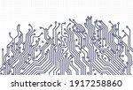 abstract high tech technology... | Shutterstock .eps vector #1917258860