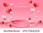 happy valentines day concept... | Shutterstock . vector #1917262223