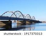 Oddesund Bridge In Denmark In...