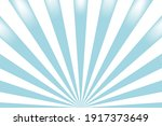 sun rays blue and white vector... | Shutterstock .eps vector #1917373649