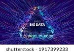 Big Data Triangle Vector...