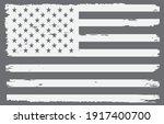 grunge distressed usa flag... | Shutterstock .eps vector #1917400700