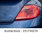 Closeup Of A Taillight On A...