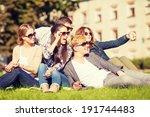 summer holidays and teenage... | Shutterstock . vector #191744483